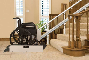 A Stair Lifts Wheelchair Platform